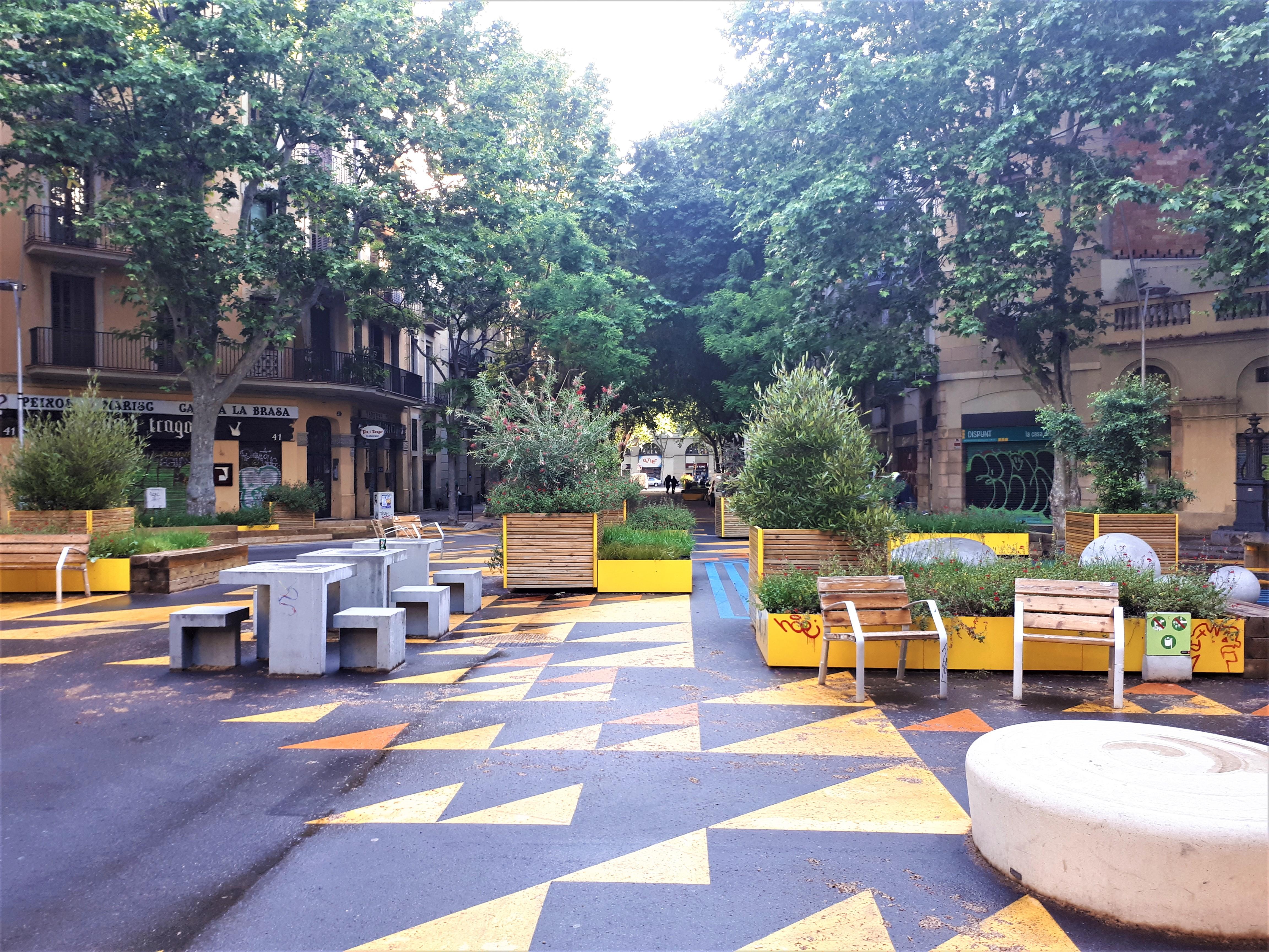 superilla Sant Antoni BCN